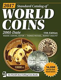 Изображение Книги о монетах Нумизматика Краузе 2017, Стандартный каталог монет всего мира с 2001 г, по настоящее время 0
