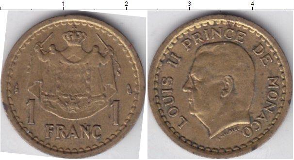 Картинка Мелочь Монако 1 франк  0