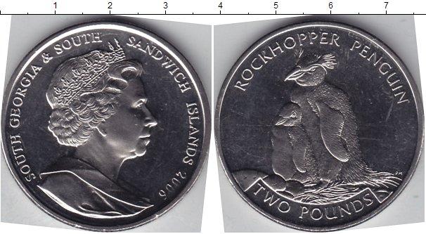 Картинка Мелочь Сендвичевы острова 2 фунта Медно-никель 2006