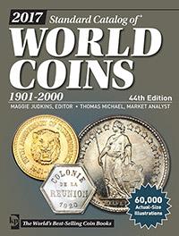 Изображение Книги о монетах Нумизматика Краузе 2017, Стандартный каталог монет всего мира, 1901-2000 г, 0