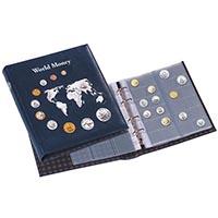"""Изображение Аксессуары для монет Optima Альбом """"World Money"""" для монет, с листами 0"""