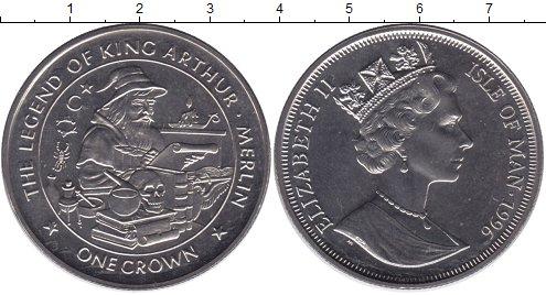 Картинка Мелочь Остров Мэн 1 крона Медно-никель 1996