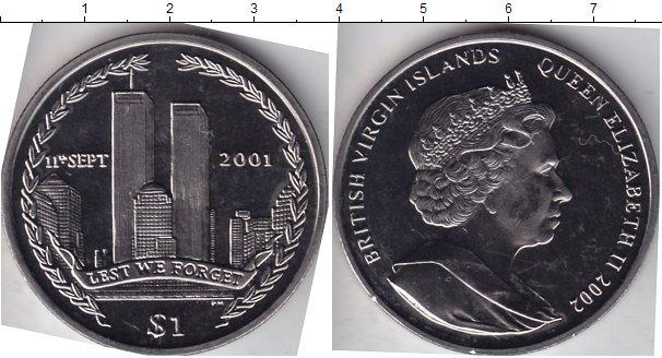 Картинка Мелочь Виргинские острова 1 доллар Медно-никель 2002