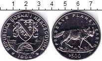 Изображение Мелочь Босния и Герцеговина 500 динар 1994 Медно-никель UNC-
