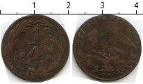 Изображение Монеты Мексика 1/4 реала 1836 Медь