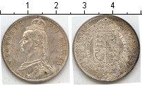 Изображение Монеты Великобритания 1/2 кроны 1887 Серебро UNC-