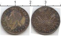 Изображение Монеты Гаити 50 сантимов 1828 Серебро UNC- Боер