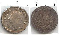 Изображение Монеты Гаити 25 сантим 0 Серебро  Петион