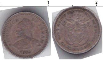 Картинка Монеты Панама 5 сентесимо Серебро 1904