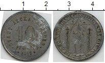 Изображение Нотгельды Ашаффенбург 10 пфеннигов 1917 Цинк  23.2 m