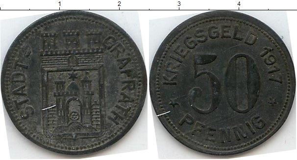 Картинка Нотгельды Графрат 50 пфеннигов Цинк 1917