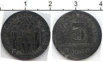 Изображение Нотгельды Ашаффенбург 5 пфеннигов 1917 Цинк  23.1