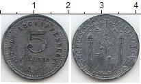 Изображение Нотгельды Германия 5 пфеннигов 1917 Цинк  23.1 m