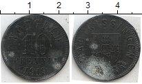 Изображение Нотгельды Киссинген 10 пфеннигов 1919 Цинк  246.8