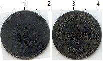 Изображение Нотгельды Китцинген 10 пфеннигов 1917 Цинк