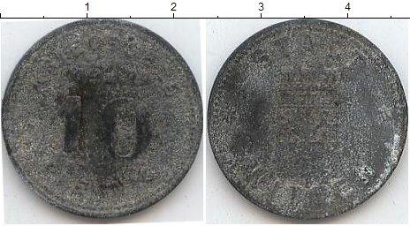 Картинка Нотгельды Виттен 10 пфеннигов Цинк 1917