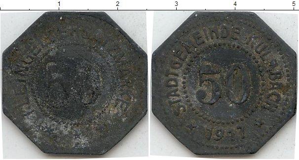 Картинка Нотгельды Кульмбах 50 пфеннигов Цинк 1917