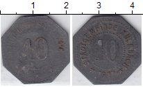 Изображение Нотгельды Кульмбах 10 пфеннигов 1917 Цинк  264.2