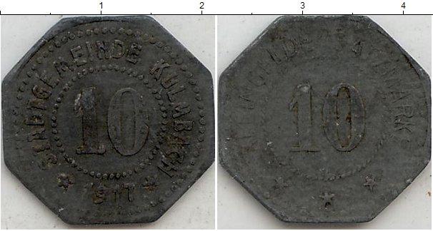 Картинка Нотгельды Кульмбах 10 пфеннигов Цинк 1917