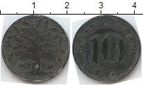 Изображение Нотгельды Германия 10 пфеннигов 1917 Цинк  402.5 b