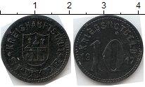 Изображение Нотгельды Шпейер 10 пфеннигов 1917 Цинк  513.2 e