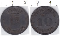 Изображение Нотгельды Виттен 10 пфеннигов 1917 Цинк  60.2 b