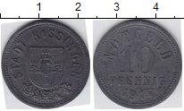 Изображение Нотгельды Киссинген 10 пфеннигов 1917 Цинк  246.2