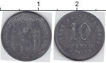 Изображение Нотгельды Ашаффенбург 10 пфеннигов 1917 Цинк
