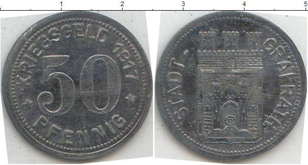 Картинка Нотгельды Германия 50 пфеннигов Цинк 1917