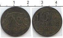 Изображение Нотгельды Вормс 10 пфеннигов 1918 Цинк  613.2 b