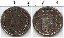 Изображение Нотгельды Германия 10 пфеннигов 1920 Цинк  404.6 u
