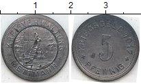 Изображение Нотгельды Меттман 5 пфеннигов 1917 Цинк  333.1 b