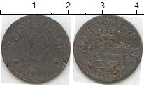 Изображение Нотгельды Германия 10 пфеннигов 1918 Цинк  305.4