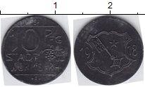 Изображение Нотгельды Вормс 10 пфеннигов 1918 Цинк  613.1 d