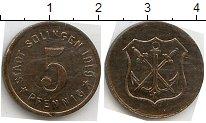 Изображение Нотгельды Золинген 5 пфеннигов 1919 Цинк  508.4 a