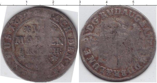 Картинка Монеты Брауншвайг-Люнебург 1/6 талера Серебро 1697