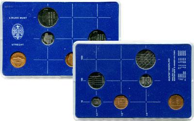 Изображение Подарочные монеты Нидерланды Набор монет 1983 года 1983  UNC Набор посвящен монет