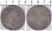 Изображение Монеты Великобритания 1 крона 1695 Серебро