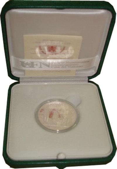 Изображение Подарочные наборы Ватикан 43-я годовщина празднования Дня Мира 2010 Серебро Proof