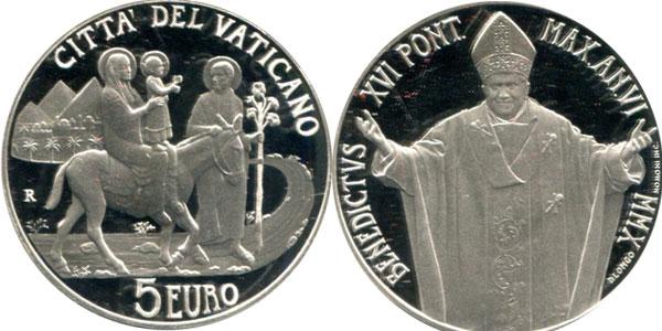 Картинка Подарочные наборы Ватикан Международный день миграции Серебро 2010