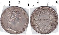 Изображение Монеты Франция токен 0 Серебро  Людовик XV. Jeton A/