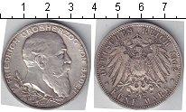 Изображение Монеты Баден 5 марок 1902 Серебро
