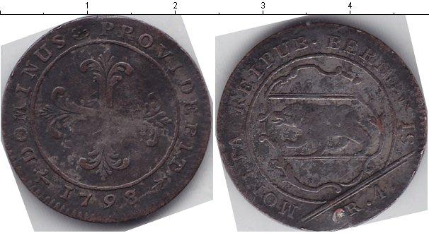 Картинка Монеты Берн 4 крейцера Медь 1798