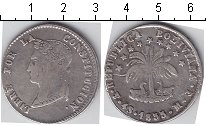 Изображение Монеты Боливия 4 соля 1853 Серебро