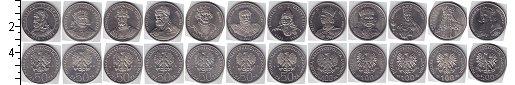 Изображение Наборы монет Польша Польша 1979-1989 0 Медно-никель UNC- В наборе 12 монет но
