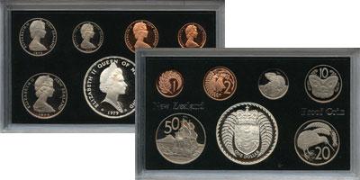 Изображение Подарочные монеты Новая Зеландия Выпуск монет 1979 года 1979  Proof Подарочный набор 197