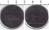 Изображение Монеты Сьерра-Леоне 1 цент 1791 Медь