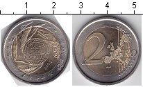 Изображение Мелочь Италия 2 евро 2004 Биметалл UNC- 50 лет Всемирной Про