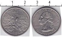 Изображение Мелочь США 1/4 доллара 2002 Медно-никель