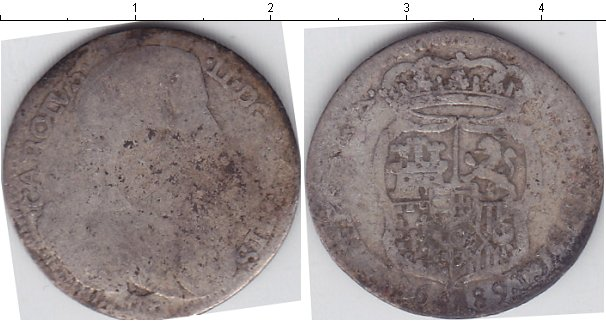 Картинка Монеты Сицилия 10 гран Серебро 0